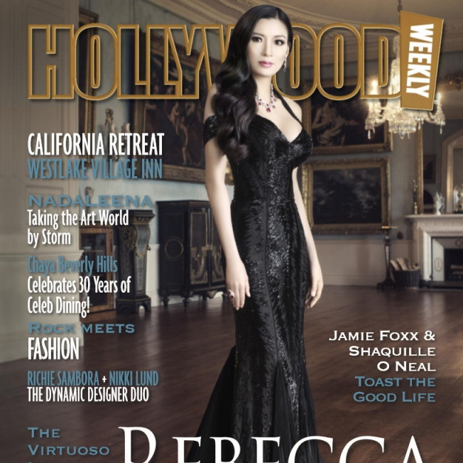 Rebecca Wang interviewed for Hollywood weekly Magazine 2013