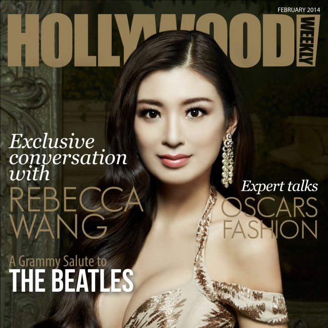 Rebecca Wang interviewed for Hollywood weekly Magazine 2014