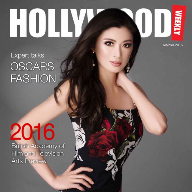 Rebecca Wang interviewed for Hollywood weekly Magazine 2016
