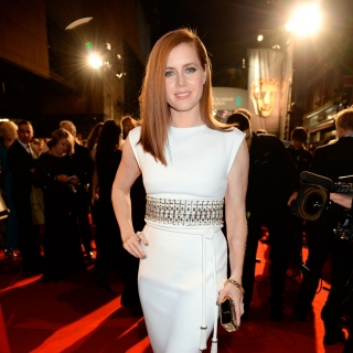 Amy Adams arrives at the 68th BAFTA Film Awards