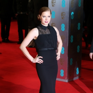 Amy Adams arrives at the 67th BAFTA Film Awards
