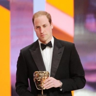 HRH Prince William at the 67th BAFTA Film Awards