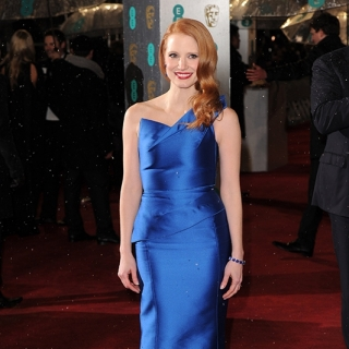 Jessica Chastain at the 66th BAFTA Film Awards